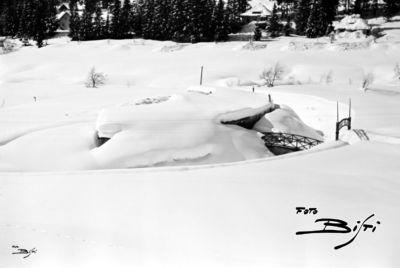 193 - laghetto bar sommerso da neve